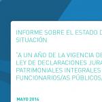 ACIJ y Contadores Forenses advierten grave retroceso en el acceso a información de las Declaraciones Juradas de los/as funcionarios/as