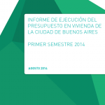 Ejecución del área de vivienda en el primer semestre de 2014