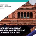 INFORME | Transparencia en las contrataciones públicas del sistema nacional