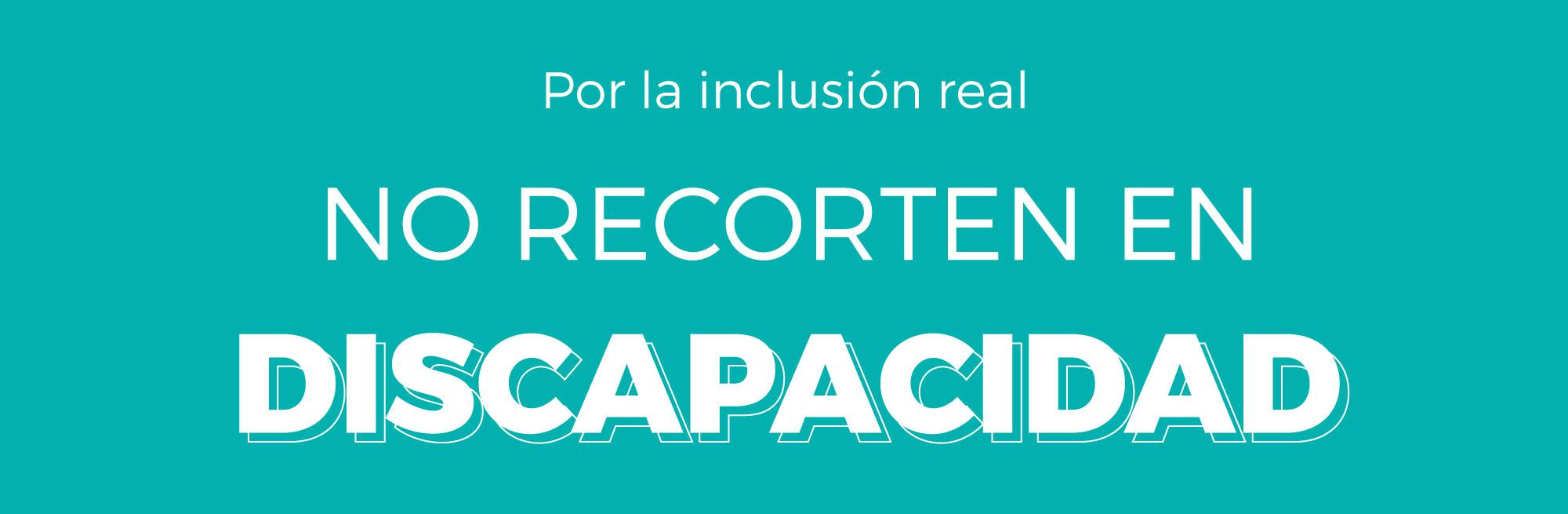 Las personas con discapacidad no son una prioridad para el Gobierno argentino