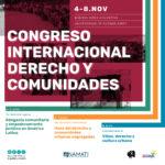 Congreso Internacional Derecho y Comunidades