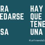 #LaViviendaEsUnDerecho