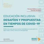 Seminario en línea: «Educación inclusiva: desafíos y propuestas en tiempos de COVID-19»