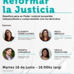 16/06 | Conversatorio público: REFORMAR LA JUSTICIA