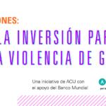 """Cierre del ciclo de capacitaciones """"Análisis de la inversión para erradicar la violencia de género"""""""